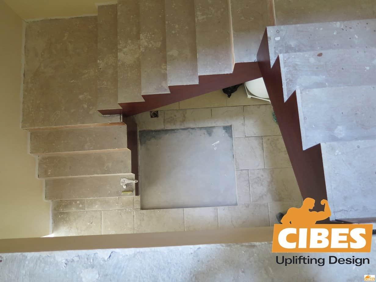 Hình xây dựng thang máy gia đình Cibes