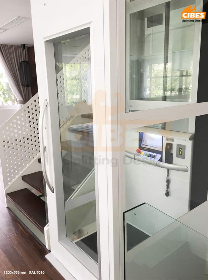 Thang máy Cibes A4000 tại căn biệt thự ParkCity, Hà Nội 5