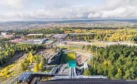 Cibes Lift đưa bạn tham quan toàn cảnh Giải Vô địch Trượt tuyết Thế giới 2015 tại Falun Thụy Điển