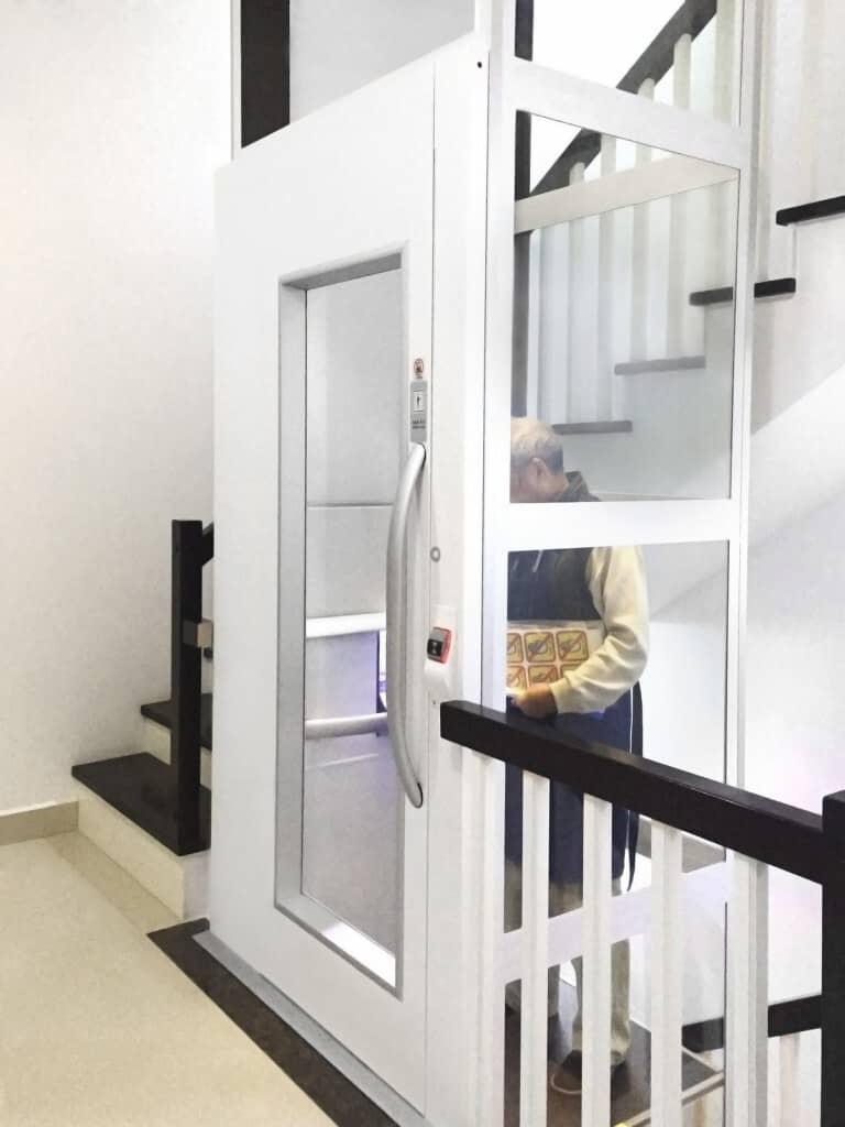 Thang máy Cibes dành cho gia đình an toàn