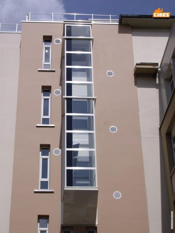 Thang máy Cibes dành cho chung cư