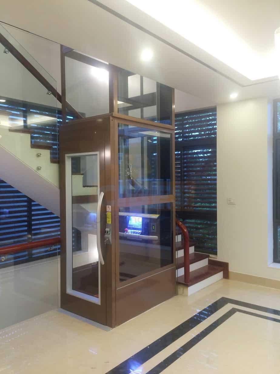 an toàn khi sử dụng thang máy gia đình