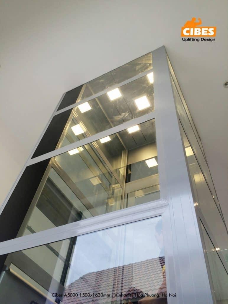 Thiết kế trần thang máy cao cấp