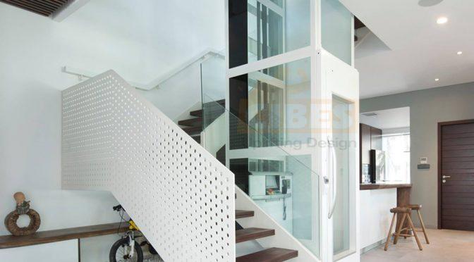 Có lắp đặt được cầu thang máy cao cấp cho nhà cải tạo không?
