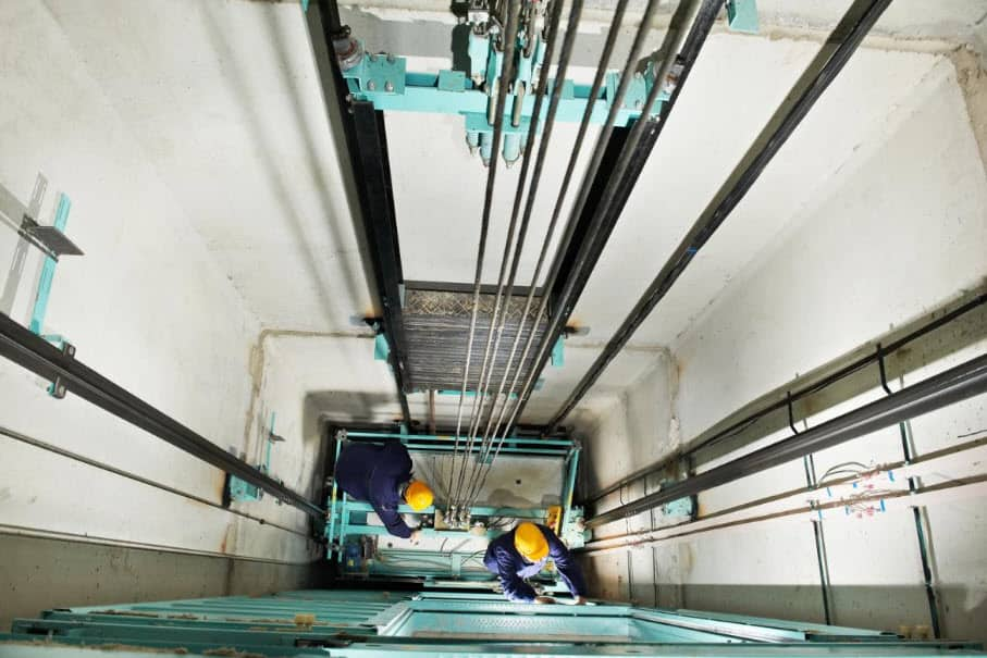 hệ thống thiết bị thang máy