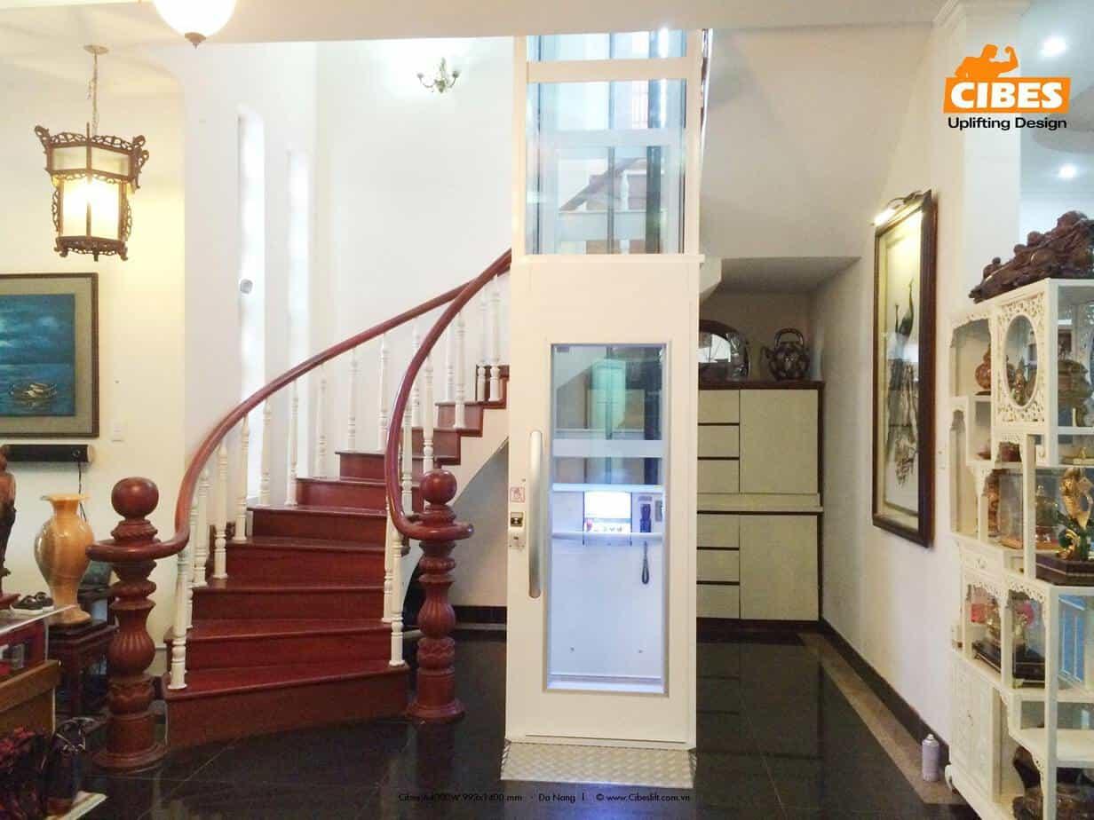Ưu điểm nên sử dụng thang máy mini cho gia đình
