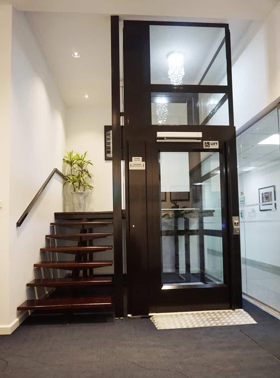 Thiết kế tiết kiệm diện tích thang máy gia đình Cibes