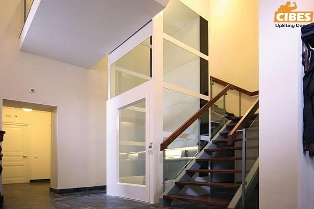 Các tính năng tiêu chuẩn của thang máy tự động Cibeslift!