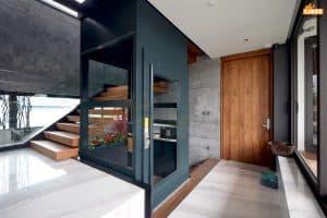 Thiết kế thang máy gia đình mang dấu ấn riêng của gia chủ
