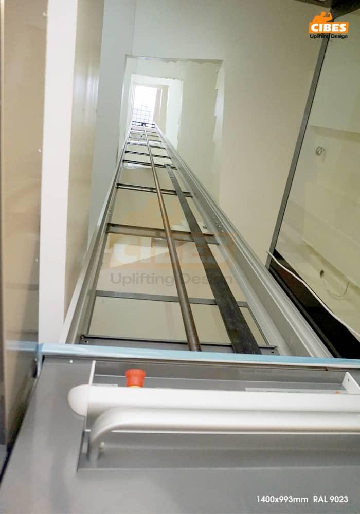 Thang máy Cibes A4000 hiện đại tại Văn Cao, Hà Nội 1