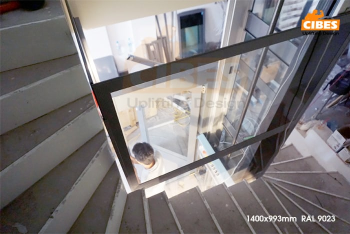 Ưu điểm của dòng thang máy gia đình nhập khẩu loại nhỏ CIBES