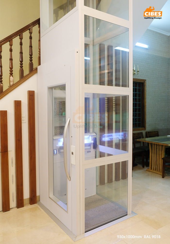 Thang máy Cibes A4000 được lắp đặt tại Yên Lạc, Hà Nội 3