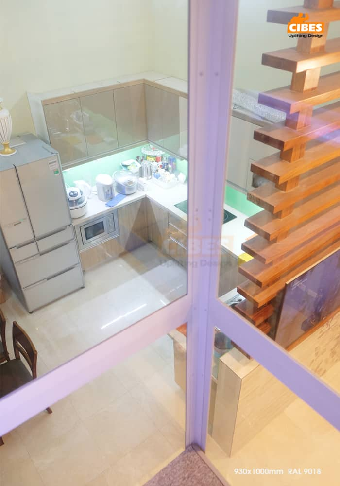 Thang máy Cibes A4000 được lắp đặt tại Yên Lạc, Hà Nội 5