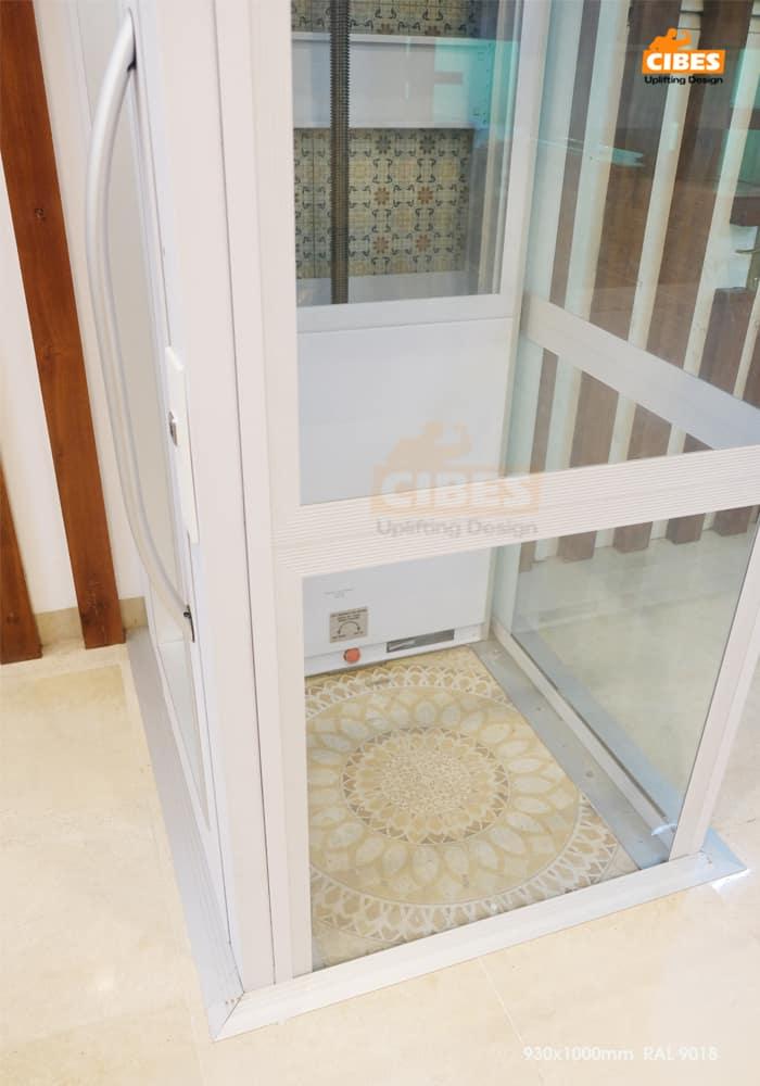 Thang máy Cibes A4000 được lắp đặt tại Yên Lạc, Hà Nội 6