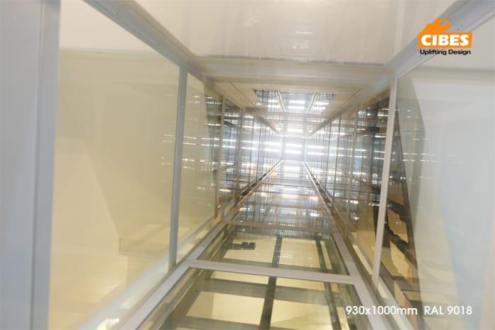 Thang máy Cibes A4000 được lắp đặt tại Yên Lạc, Hà Nội 8