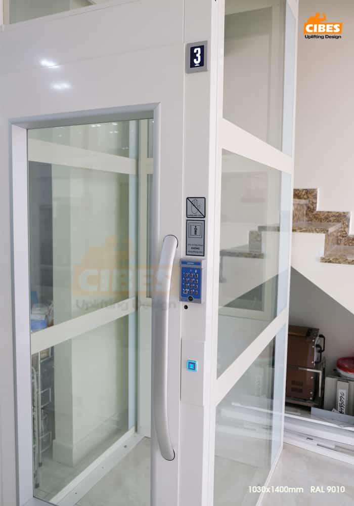 Thang máy Cibes A4000 tại căn hộ Phú Gia Vinhomes Dragon Bay 2