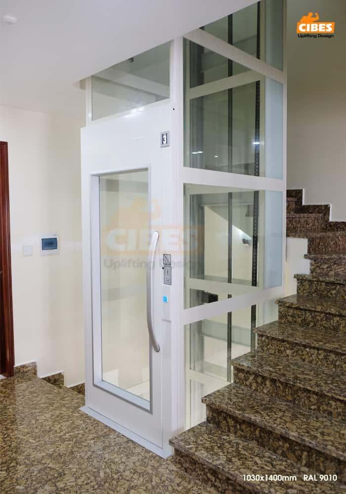 Thang máy Cibes A4000 tại căn hộ Phú Gia Vinhomes Dragon Bay 3