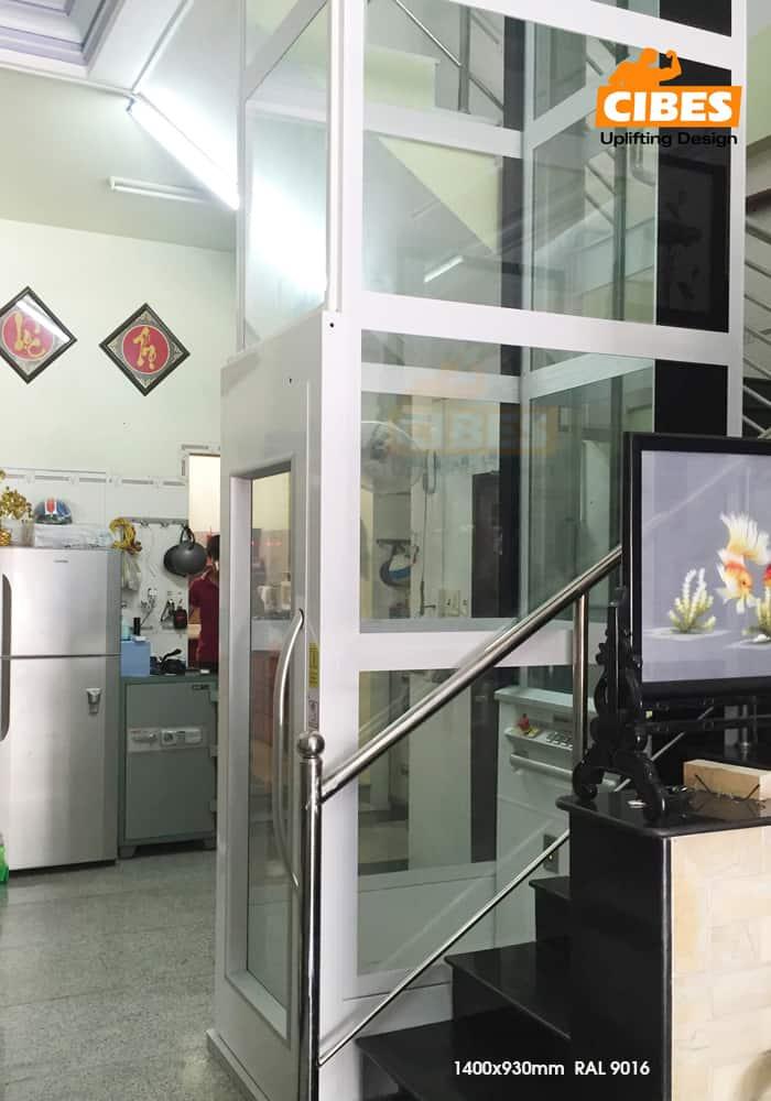 Thang máy Cibes A4000 tại Long Xuyên, An Giang 2