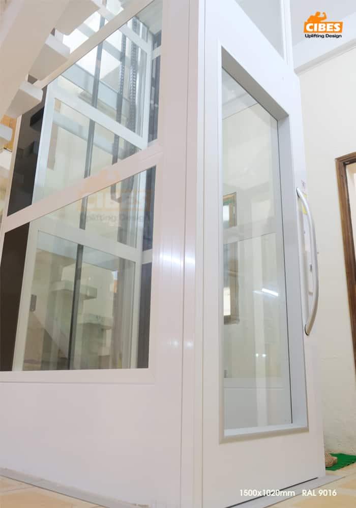 Thang máy Cibes A4000 lắp tại Kim Ngưu, Hà Nội