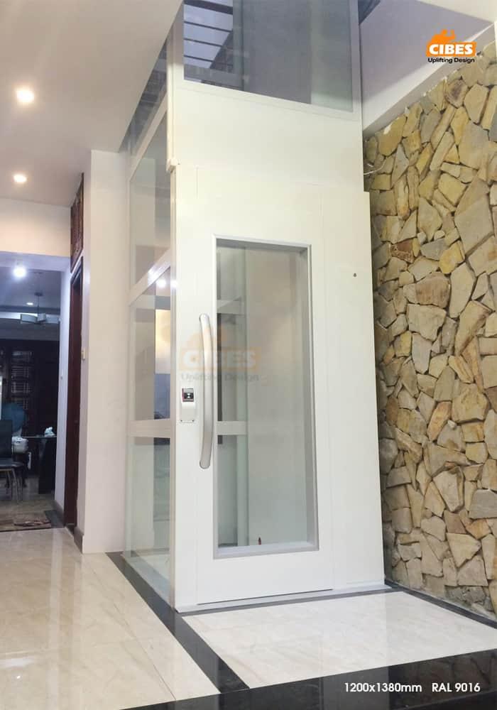Thang máy Cibes A5000 được lắp đặt tại Duy Tân, Hà Nội 9
