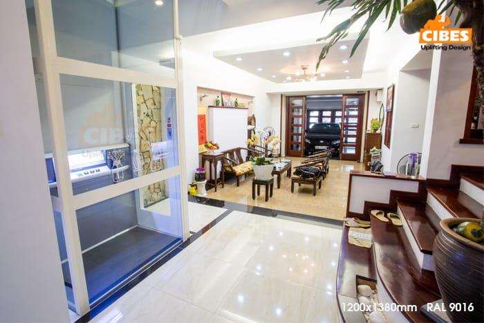 Thang máy Cibes A5000 được lắp đặt tại Duy Tân, Hà Nội 2