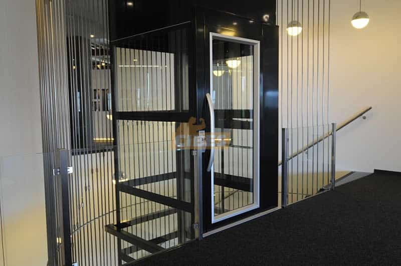 Thang máy Cibes A5000 tại showroom văn phòng Cibes Hà Lan 1