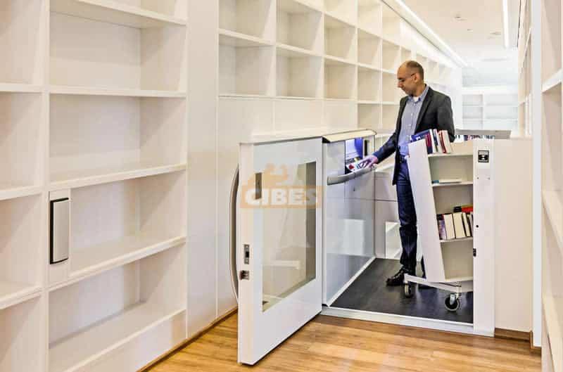 Thang máy Cibes A5000 dành cho thư viện trường đại học 2