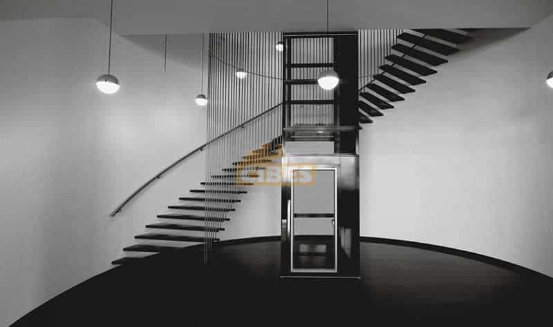 Thang máy Cibes A5000 tại showroom văn phòng Cibes Hà Lan 3