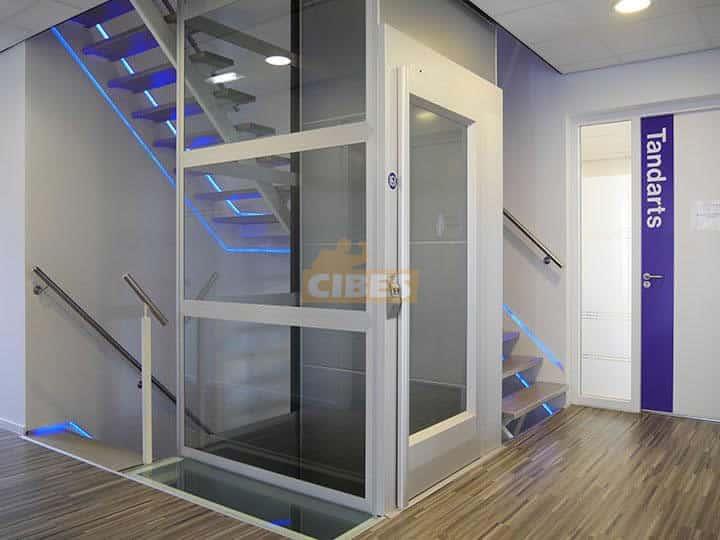 thang máy cibes A5000 ở trung tâm chăm sóc sức khỏe 2