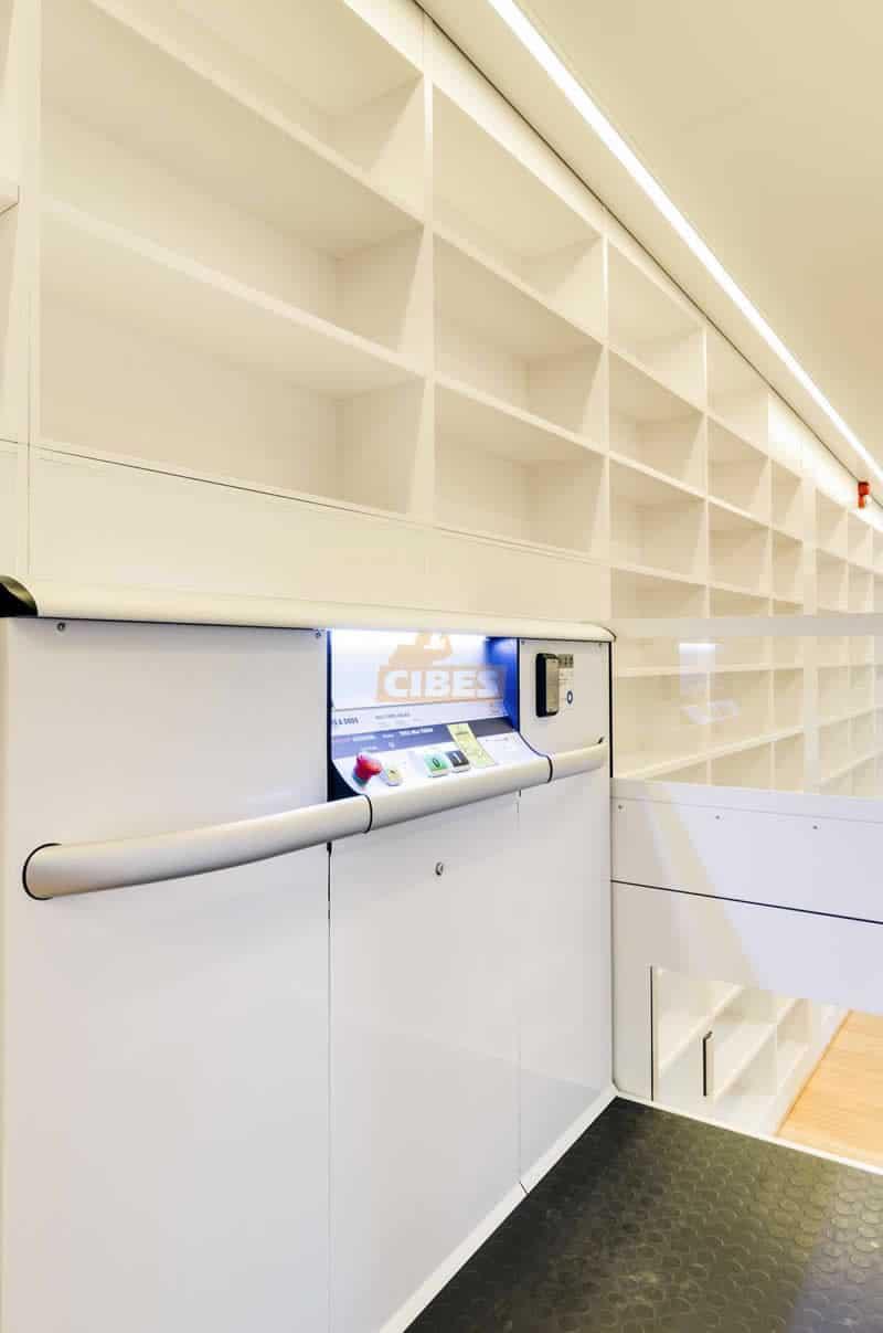 Thang máy Cibes A5000 dành cho thư viện trường đại học 4