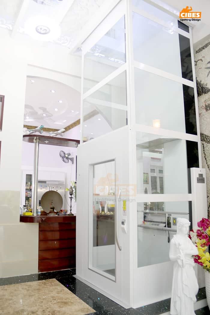 Thang máy Cibes A7000 lắp đặt tại Hồ Chí Minh 3