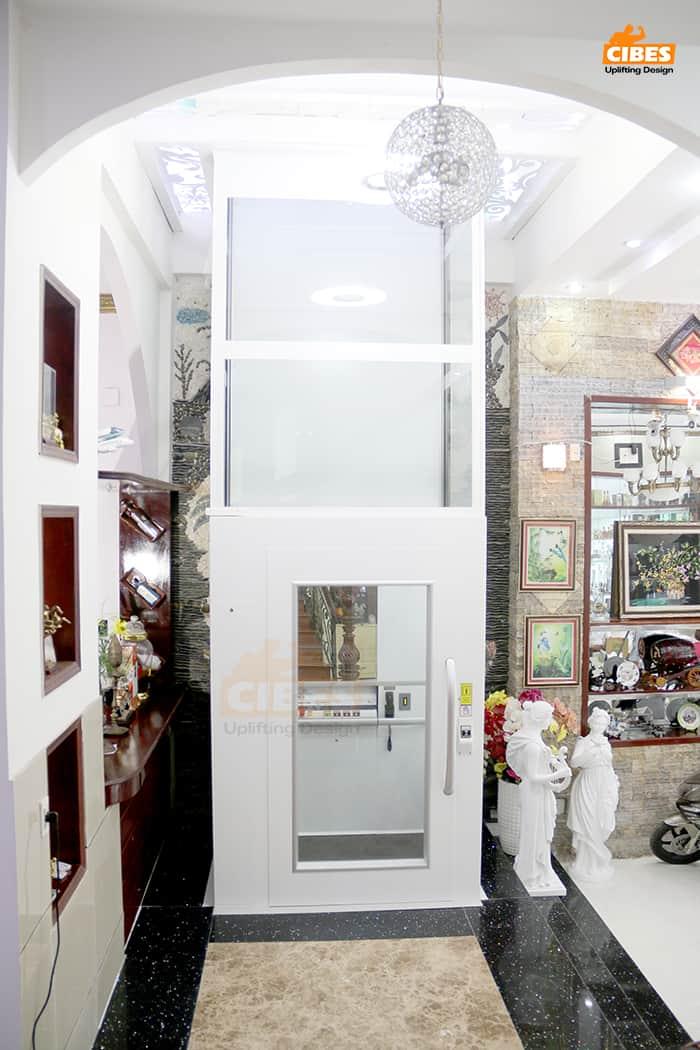 Thang máy Cibes A7000 lắp đặt tại Hồ Chí Minh 4