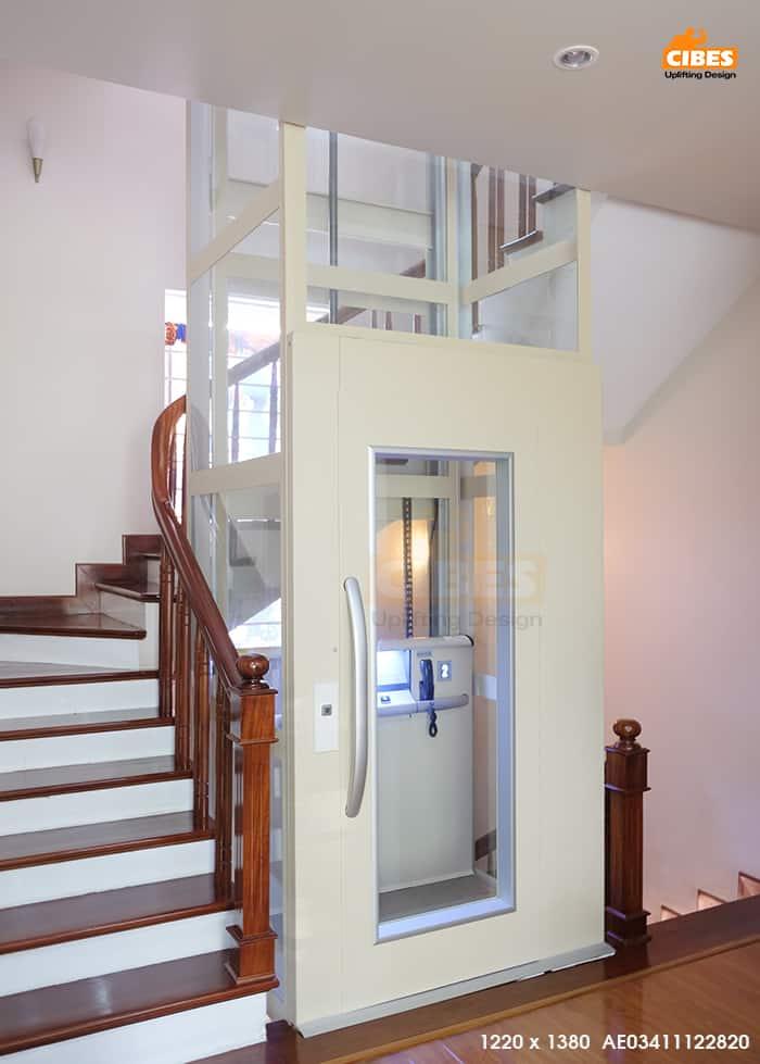 thang máy gia đình giá bao nhiêu