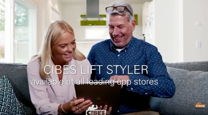 Ứng Dụng Cibes Lift Styler