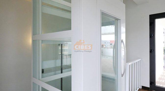 Kích thước chi tiết các dòng thang máy gia đình loại nhỏ CIBES