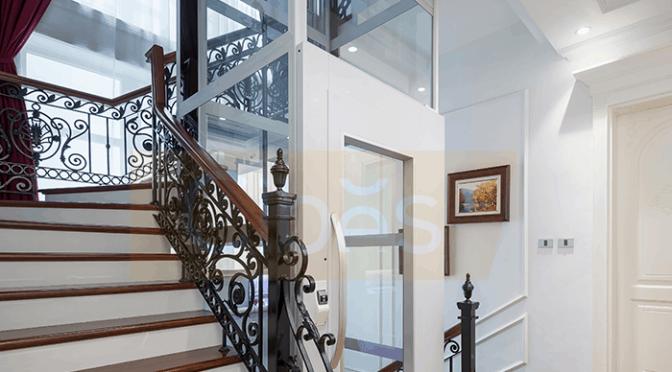 Những vật liệu quan trọng trong nội thất thang máy gia đình
