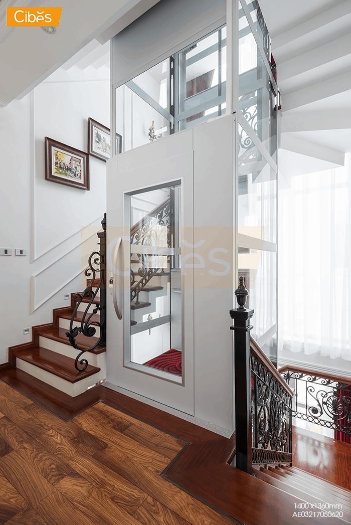 Bước cung cấp điện cho thang máy gia đình rất quan trọng.