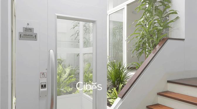 Thang máy nhập khẩu CIBES dễ lắp đặt và có độ an toàn cao