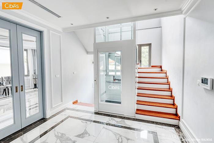 Tư vấn 2 loại thang máy gia đình 5 tầng phù hợp với mọi nhà