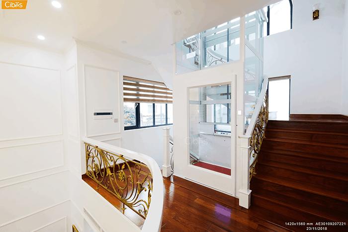 10+ mẫu thiết kế thang máy đẹp nhất 2020 của Cibes