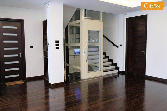 thang máy gia đình thiết kế kế nhã nhặn