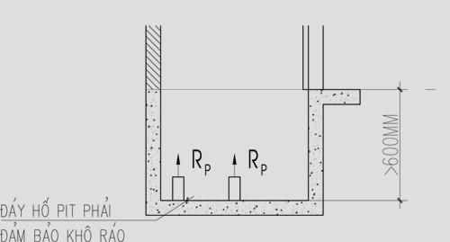 Kết cấu hố pit thang máy và 4 điều lưu ý khi x�...