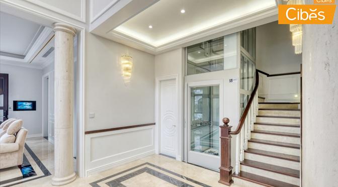 Thang máy gia đình Cibes là giải pháp hoàn hảo cho ngôi nhà bạn