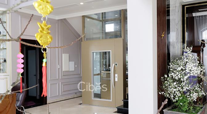 Cibes A5000 – Màu đặc biệt Roman Gold lắp tại Hải Phòng