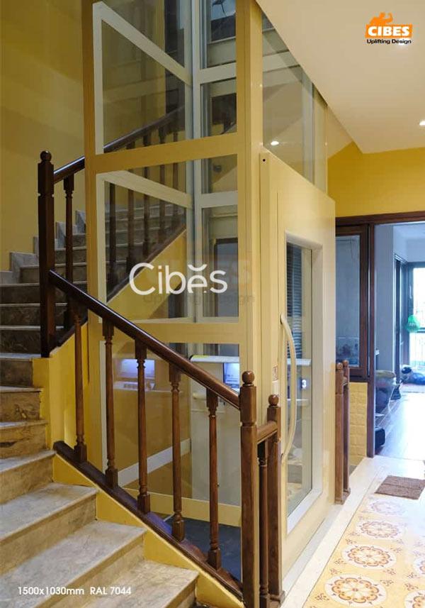 Lắp đặt thang máy tiết kiệm diện tích – Giải pháp tuyệt vời cho ngôi nhà nhỏ